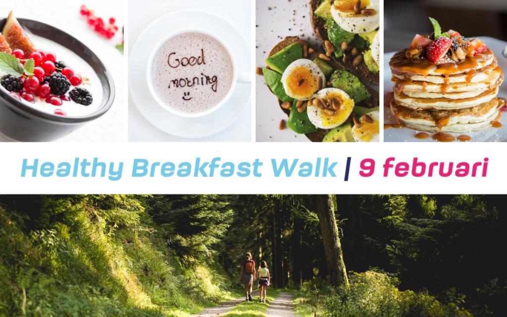 Healthy Breakfast Walk